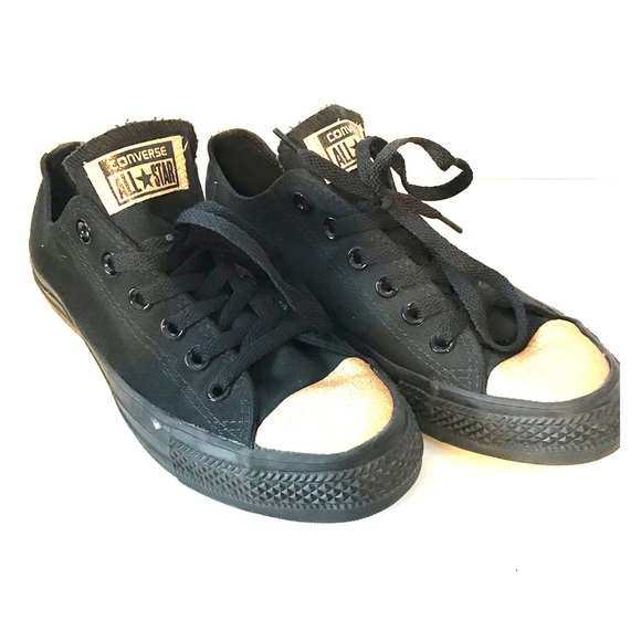 check out 42420 d5cb9 Converse Shoes - Converse black with gold glitter glitter detail